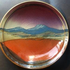 "10"" Parker Pottery 2004/ Mountain Range Bowl"